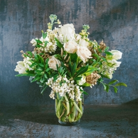 NEUTRAL Florist's Choice Bouquet in a Vase